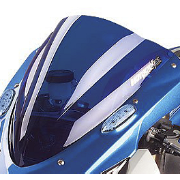 Hotbodies Racing GP Windscreen - 2009 Kawasaki ZX1000 - Ninja ZX-10R Zero Gravity Double Bubble Windscreen
