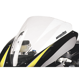 Hotbodies Racing GP Windscreen - 2011 Kawasaki ZX1400 - Ninja ZX-14 Zero Gravity Double Bubble Windscreen
