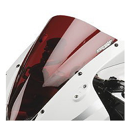 Hotbodies Racing GP Windscreen - 2006 Kawasaki ZX1400 - Ninja ZX-14 Zero Gravity Double Bubble Windscreen
