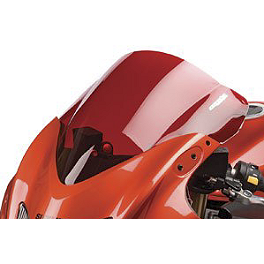 Hotbodies Racing GP Windscreen - 2004 Suzuki GSX-R 750 Zero Gravity Double Bubble Windscreen