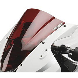 Hotbodies Racing GP Windscreen - 2006 Suzuki GSX-R 600 Zero Gravity Double Bubble Windscreen
