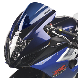 Hotbodies Racing GP Windscreen - 2008 Suzuki GSX-R 750 Zero Gravity Double Bubble Windscreen