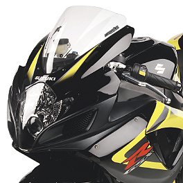 Hotbodies Racing GP Windscreen - 2007 Suzuki SV1000S Zero Gravity Double Bubble Windscreen