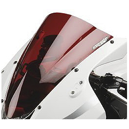 Hotbodies Racing GP Windscreen - 2006 Suzuki GSX-R 1000 Zero Gravity Double Bubble Windscreen