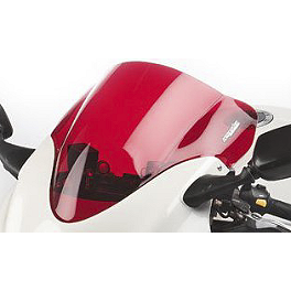 Hotbodies Racing GP Windscreen - 2001 Suzuki GSX1300R - Hayabusa Zero Gravity Double Bubble Windscreen