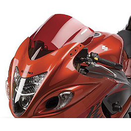 Hotbodies Racing GP Windscreen - 2008 Suzuki GSX1300R - Hayabusa Zero Gravity Double Bubble Windscreen