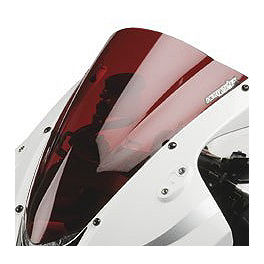 Hotbodies Racing GP Windscreen - 2008 Yamaha YZF - R6S Zero Gravity Double Bubble Windscreen