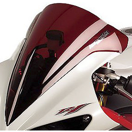 Hotbodies Racing GP Windscreen - 2006 Yamaha YZF - R1 Zero Gravity Double Bubble Windscreen