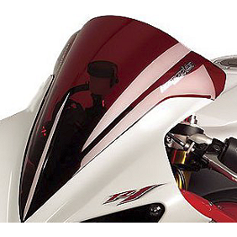 Hotbodies Racing GP Windscreen - 2007 Yamaha YZF - R1 Zero Gravity Double Bubble Windscreen