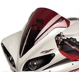 Hotbodies Racing GP Windscreen - 2011 Yamaha YZF - R1 Zero Gravity Double Bubble Windscreen