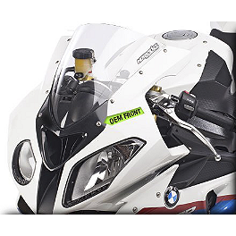 Hotbodies Racing GP Windscreen - 2011 BMW S1000RR Zero Gravity Double Bubble Windscreen