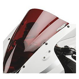 Hotbodies Racing GP Windscreen - 2008 Ducati 1098R Zero Gravity Double Bubble Windscreen