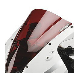 Hotbodies Racing GP Windscreen - 2010 Kawasaki EX250 - Ninja 250 Zero Gravity Double Bubble Windscreen