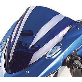 Hotbodies Racing GP Windscreen - 2009 Suzuki GSX-R 1000 Zero Gravity Double Bubble Windscreen