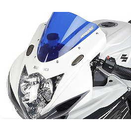 Hotbodies Racing GP Windscreen - 2011 Suzuki GSX-R 600 Puig Racing Windscreen - Dark Smoke