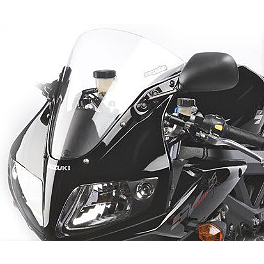 Hotbodies Racing SS Stock Replacement Windscreen - 2008 Suzuki SV650SF Hotbodies Racing Fiberglass Race Upper - Unpainted