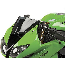Hotbodies Racing Stunt Windscreen - 2009 Kawasaki ZX600 - Ninja ZX-6R Driven Racing Clip-Ons - 51mm