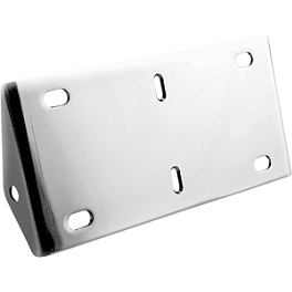 Hardstreet Plate Style Turn Signal Relocation Brackets - Hardstreet Classic Saddlebags Without Mounting Holes