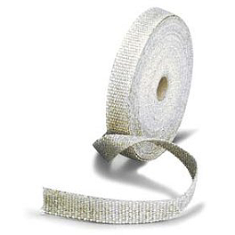Helix Exhaust Wrap - 50' X 2' - DEI Stainless Steel Locking Ties 14