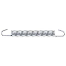 Helix Zinc Exhaust Springs - Helix Heat Shield - 1-1/2