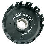 Hinson Billet Clutch Basket With Kickstarter Gear - ATV Clutches, Clutch Kits and Components