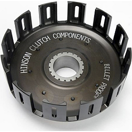 Hinson Billet Clutch Basket - 2000 KTM 200MXC Barnett Clutch Kit