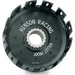 Hinson Billet Clutch Basket With Cushions - Dirt Bike Clutch Kits and Components