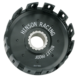 Hinson Billet Clutch Basket - 2010 Suzuki RMX450Z Hinson Billet Clutch Basket