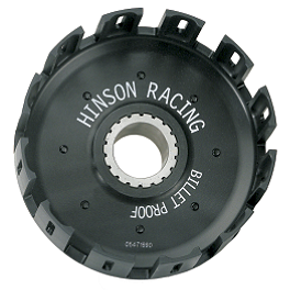 Hinson Billet Clutch Basket - 2008 Yamaha RAPTOR 700 Barnett Clutch Kit