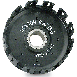 Hinson Billet Clutch Basket - Hinson Clutch Fiber, Steel, Spring Kit