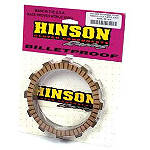 Hinson Clutch Fiber Plates - 8 Pack - Dirt Bike Clutches, Clutch Kits and Components