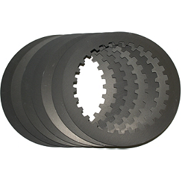 Hinson Clutch Steel Plate Kit - 7 Pack - 2005 Honda TRX450R (KICK START) Hinson Billet Clutch Basket