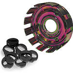 Hinson Steel Clutch Basket With Cushions - Dirt Bike Clutch Kits and Components
