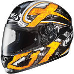 HJC CL-16 Helmet - Shock -  Open Face Motorcycle Helmets