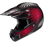 HJC CL-XY Youth Helmet - Whirl - GIRLS--HELMETS ATV Helmets and Accessories