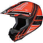 HJC CL-X6 Slash Helmet -  Motocross Chest and Back Protection