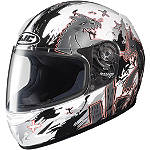 HJC CL-Y Youth Helmet - Katzilla - FEATURED-2 Dirt Bike Helmets and Accessories