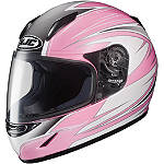 HJC CL-Y Youth Helmet - Razz - FEATURED-2 Dirt Bike Helmets and Accessories