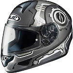 HJC CL-16 Helmet - Machine -  Open Face Motorcycle Helmets