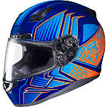 HJC CL-17 Helmet - Redline - HJC Motorcycle Helmets and Accessories