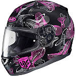 HJC CL-17 Helmet - Mystic - Womens Full Face Motorcycle Helmets