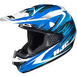 HJC CS-MX Helmet - Shattered - HJC Dirt Bike Protection