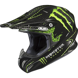HJC RPHA X Adams Monster Helmet - 2012 One Industries Monster Energy Graphic Kit - KTM