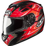 HJC CS-R2 Helmet - Storm - HJC Dirt Bike Helmets and Accessories