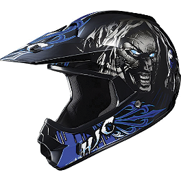HJC CL-XY Youth Vampiro Helmet - GMAX Youth GM46Y-1 Helmet - Hot Rod