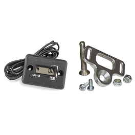Hardline Hour Meter/Mount Kit - Works Connection Hour-Tach Meter & Mount Kit