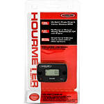 Hardline Re-Settable Hour Meter - ATV Hour and Tach Meters