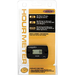 Hardline Hour Meter - Works Connection Hour-Tach Meter