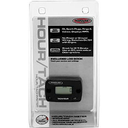 Hardline Tach / Hour Meter - Works Connection Hour-Tach Meter