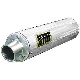 HMF Performance Series Complete Exhaust - Brushed - 2008 Suzuki LTZ400 HMF Performance Series Slip-On Exhaust - Brushed